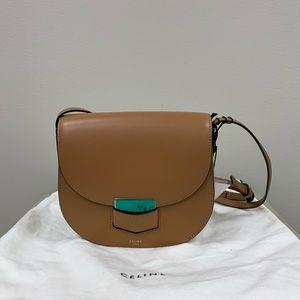 Celine Trotteur Crossbody bag in Brown